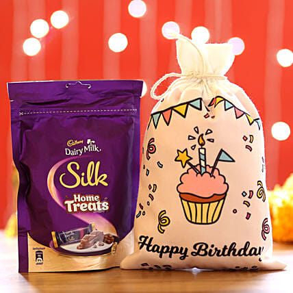 Dairy Milk Silk Pack for Birthday