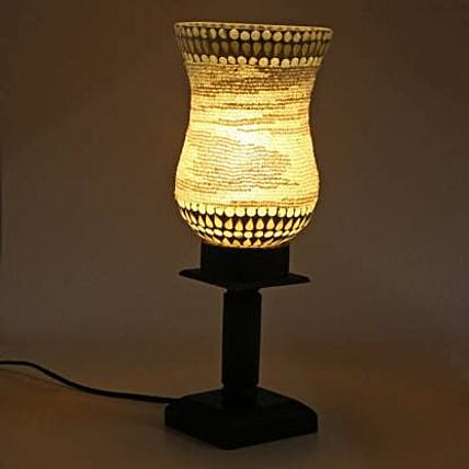 Decorative Glass Table Lamp:Gifts for Dhanteras