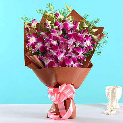 Orchids and Flower Arrangement