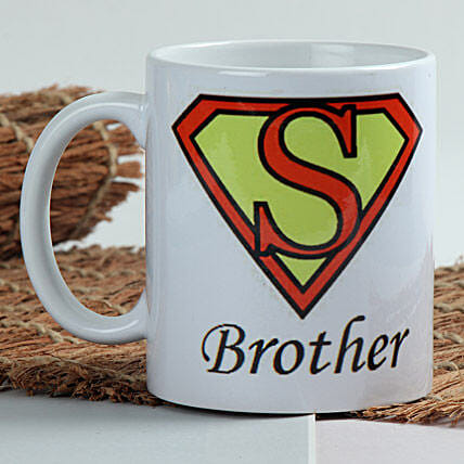 Sizzle With Superman Mug With Roli Chawal
