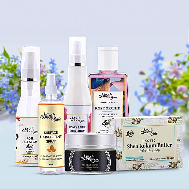 Natural Skin Care Kit for men