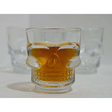 Skull Head Shot Glass:Halloween Gifts