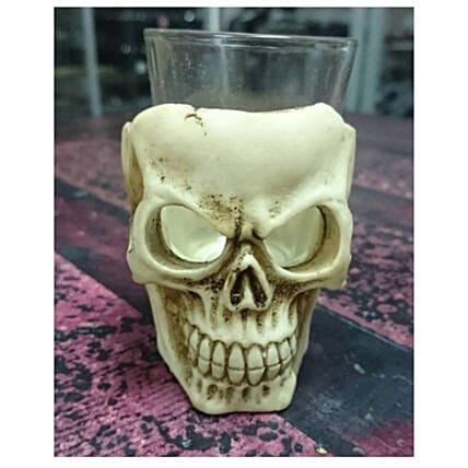 Skull Shot Glass Gothic Set Of 4