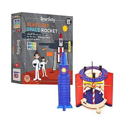 Smartivity Blast Off Space Rocket Game Kit