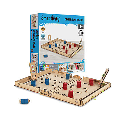 Smartivity Chess Attack Educational Toy Game Kit:Baby Toys