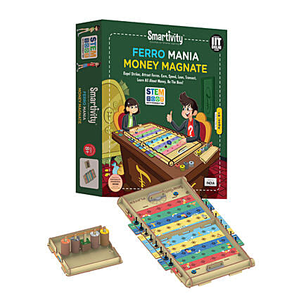 Smartivity Ferro Mania Money Magnate Game Kit