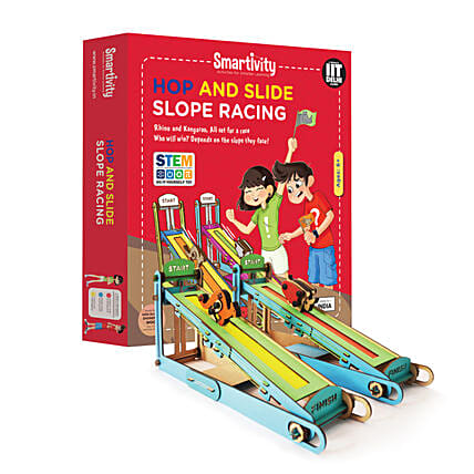 Smartivity Hop And Slide Slope Racing Game Kit