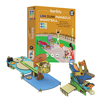 Smartivity Link Dunk Parabolic Basketball Game