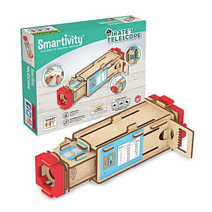 Smartivity Pirates Telescope Toy Game Kit:Kids Toys