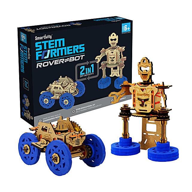 Smartivity STEMformers Rover Bot Game Kit