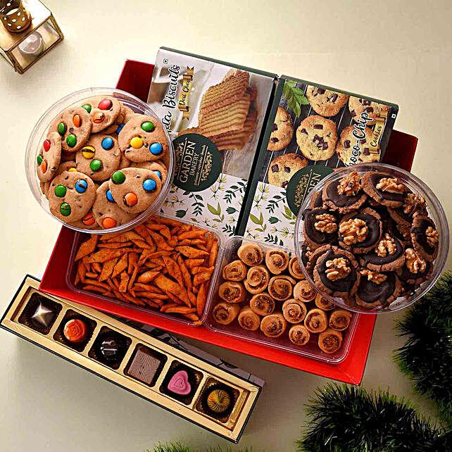 snack delight hamper online