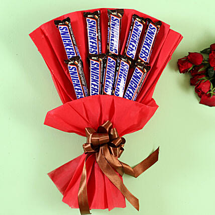 Snickers Bars Bouquet