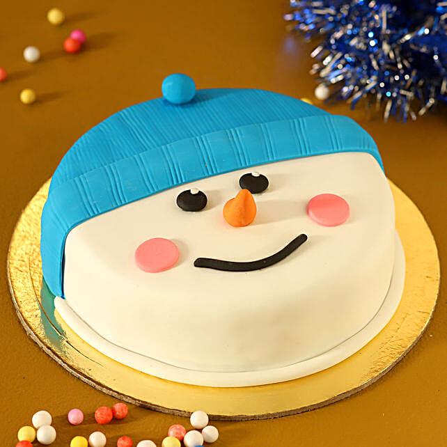 snowman truffle cake online:Christmas Cake