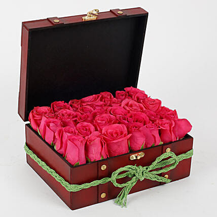 Love of Pink Rose Arrangment