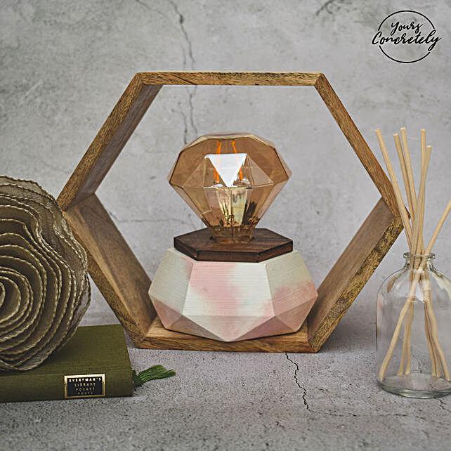 Soothing Hexa Infinity Lamp
