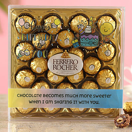 Special Birthday Ferrero Rocher Box