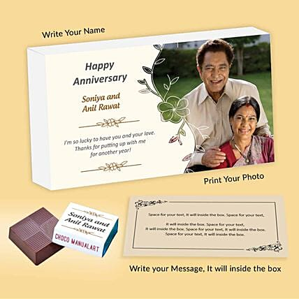 Special Couple Personalised Chocolates