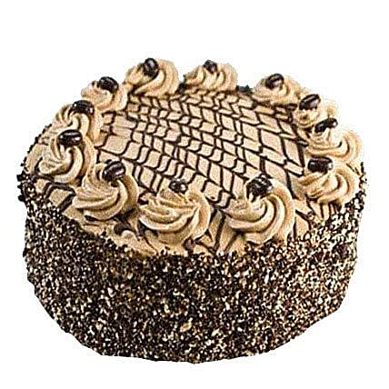 Special Delicious Coffee Cake Half kg Eggless
