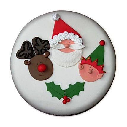 Special Delicious Merry Christmas Cake 3kg Eggless