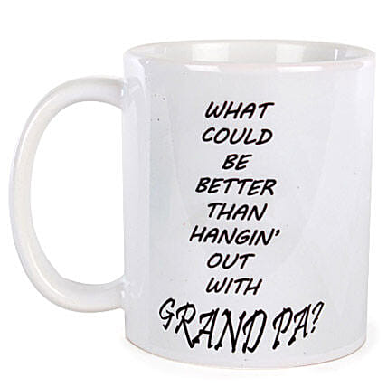 Special Grandpa Coffee Mug-White colored Special Grandpa Coffee Mug:Grandparents Day Mugs