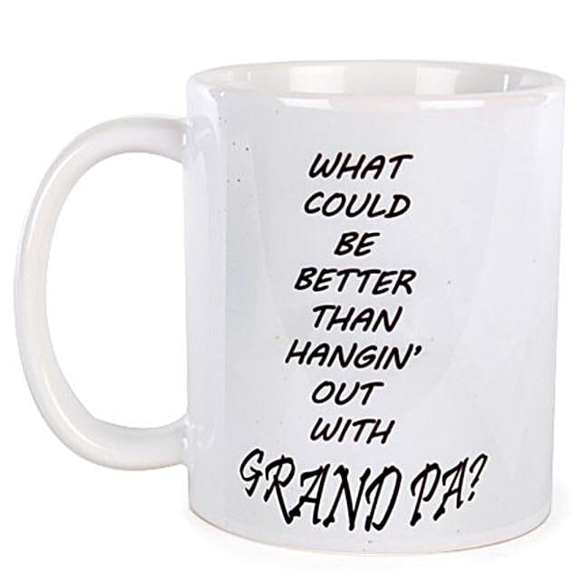 Special Grandpa Coffee Mug-White colored Special Grandpa Coffee Mug