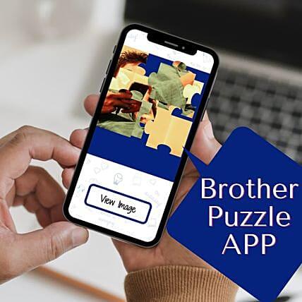Special Puzzle Rakhi Personalised App For Brother