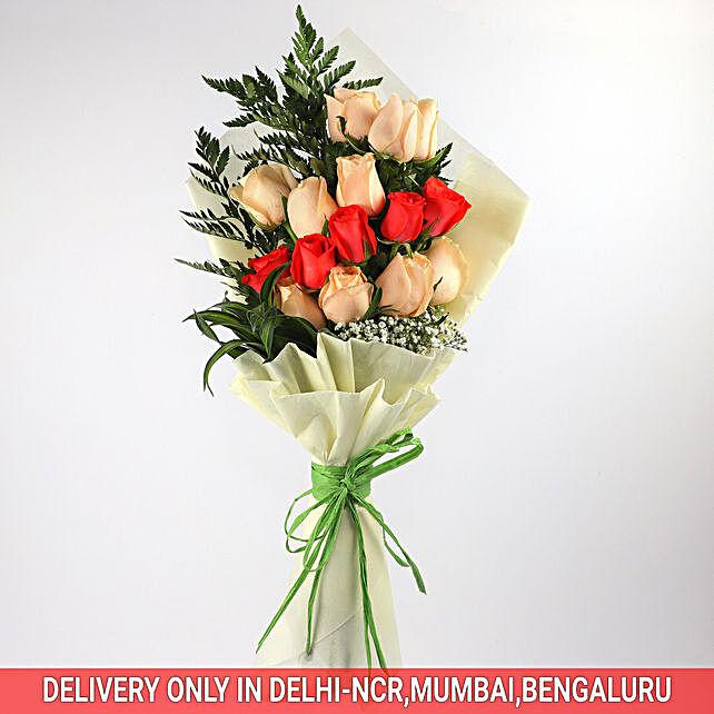 Spellbinding Bouquet Of Roses