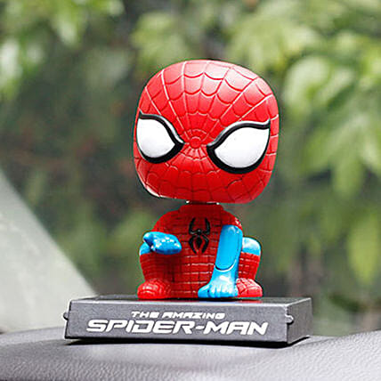online Spiderman Bobble Head Mobile Stand