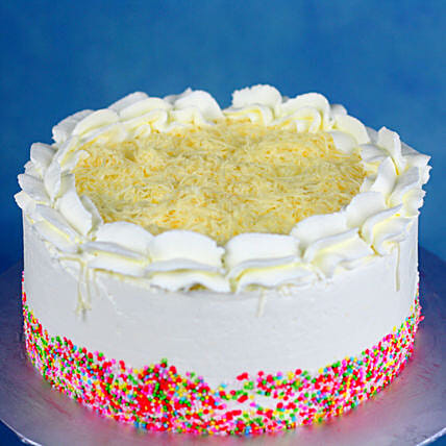 Vanilla Sprinkles Cake Online