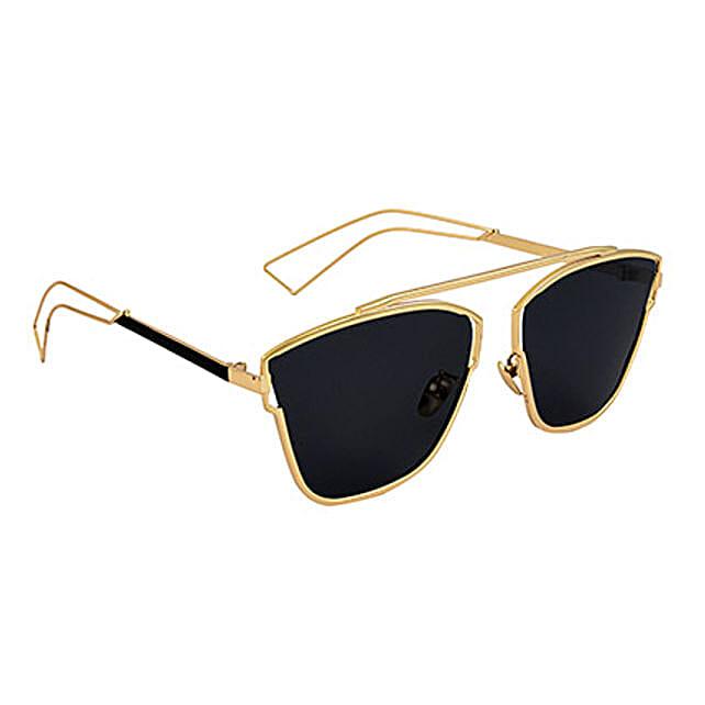 f2c09a64e7fa Stylish Black Unisex sunglasses