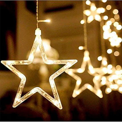 Star Curtain Lights:Show Pieces