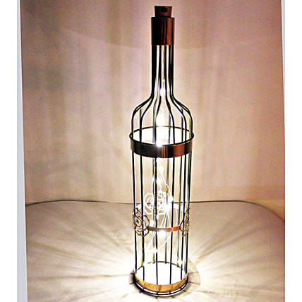 Starry Night  Wine Light Bottle:Show Pieces