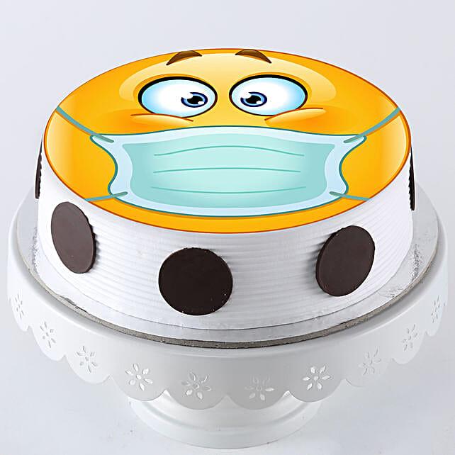 Online Emoji Cake For Quarantine