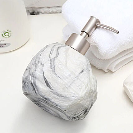 Stone Soap Dispenser Grey