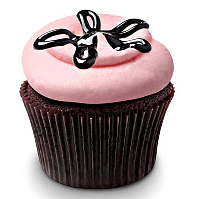 Strawberry Lava Fudge Cupcake 6