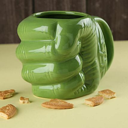 Online Sturdy Hulk Mug:Unusual Gifts for Him