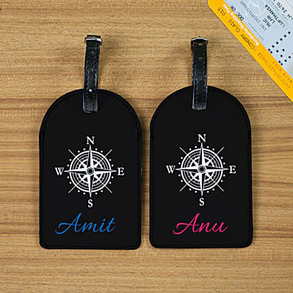 Stylish Personalised Luggage Tags