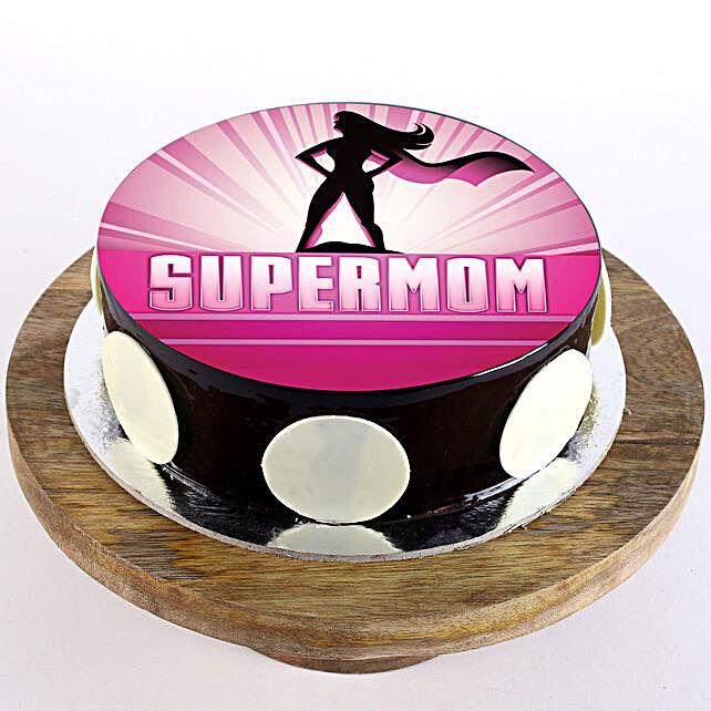 Customised photo cake for mom