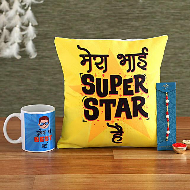 Superstar Bhai Rakhi Hamper