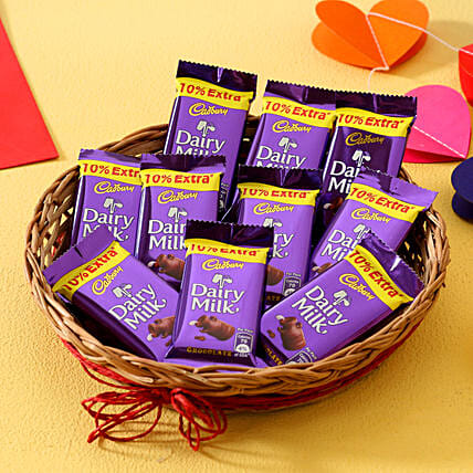 Dairy Milk Chocolate Basket Chocolates