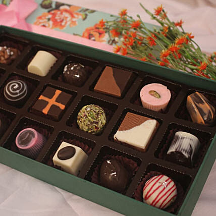 Sweet Floral Chocolates