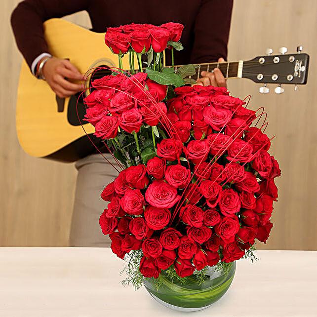 Online Sweet Guitar Tunes & Roses