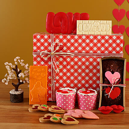 Order Sweet Love Treat Box Combo:Raksha Bandhan Soft toys