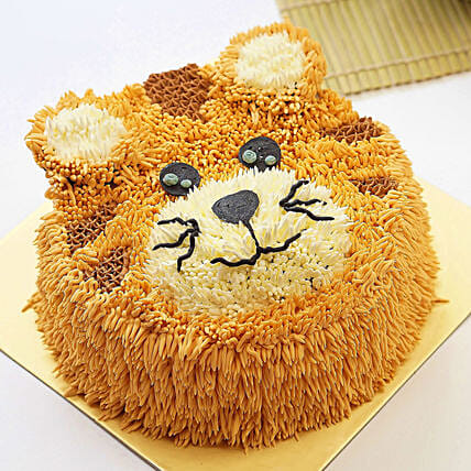 Designer Tiger Cake for Kids