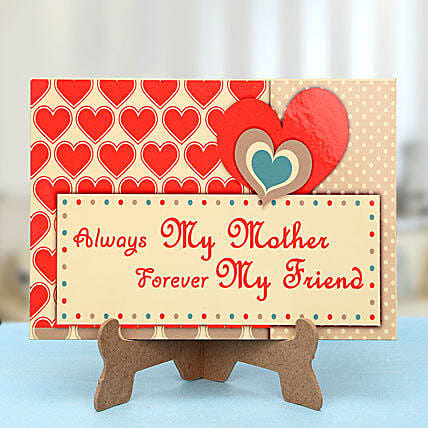 My Mom My Friend-A tabletop for mother:Plaques Gifts