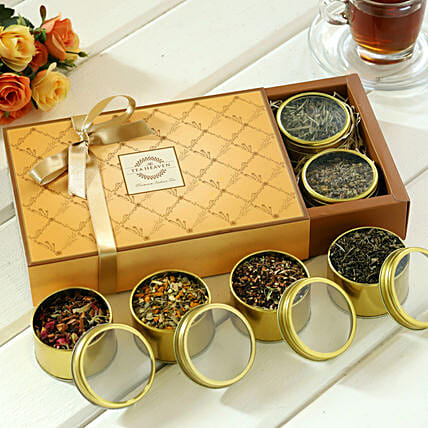 Different Types Tea Hamper:Send Diwali Gifts to Ranchi