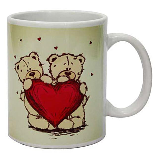 On The Mug-white coffee mug