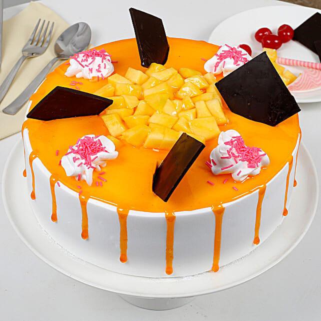 1/2 - 1 Kg Mango Cake