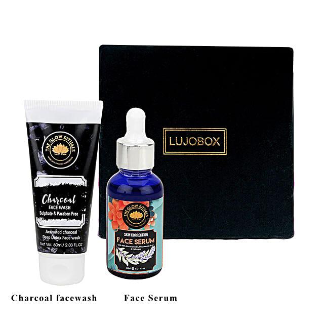 The Glow Rituals Facewash And Skin Correction Serum