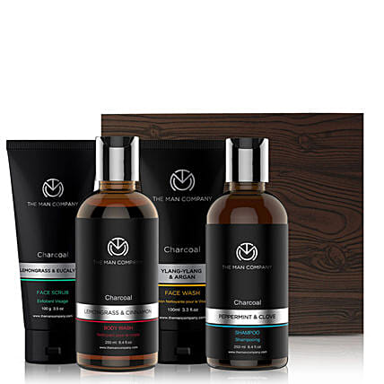 The Man Company Anti-Pollution Charcoal Set